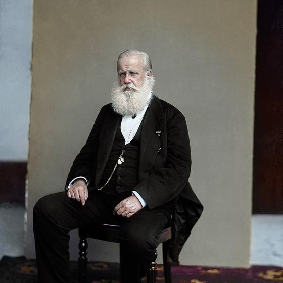 Dom Pedro II (Foto: COLORIZADAS POR MARINA AMARAL)