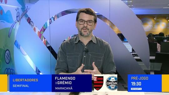 Diogo Olivier analisa o time do Grêmio para a partida decisiva contra o Flamengo
