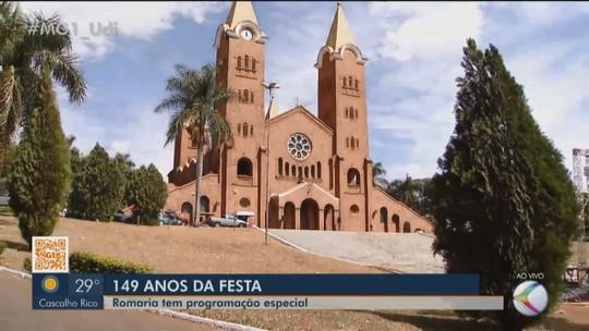 MG1 mostra a programção da festa de Nossa Senhora da Abadia em Romaria