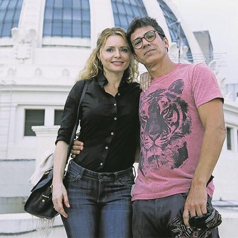 Rita Guedes e Leonardo Brício (Foto: Divulgação/Alerj)