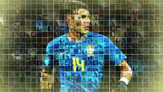 Perfil JN: choro, tuberculose e volta à Seleção: a história de Thiago Silva