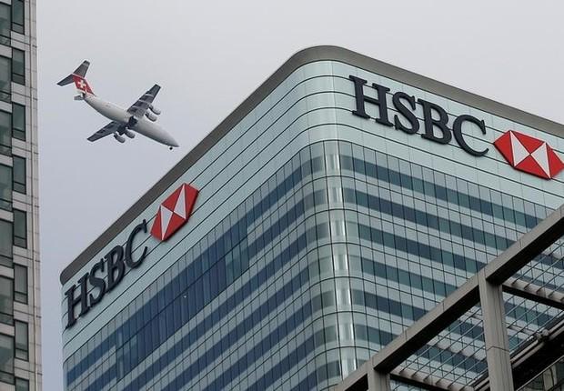 Sede do HSBC em Londres (Foto: Peter Nicholls/Reuters)