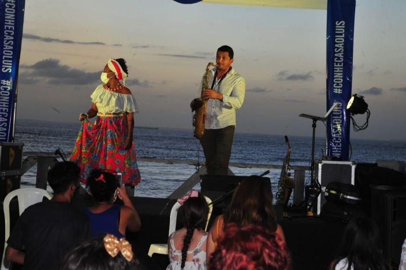 Setur realiza mais uma edição do 'São Luís Pôr do Sol Musical'
