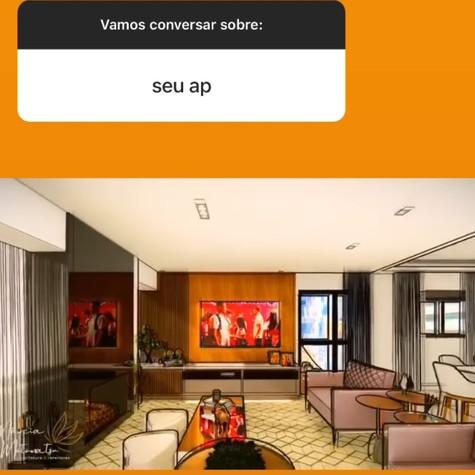 Viih Tube mostra futura sala de seu apartamento (Foto: Reprodução)