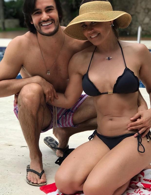 Solange Frazão e Pyero Tavolazzi (Foto: Reprodução/Instagram)