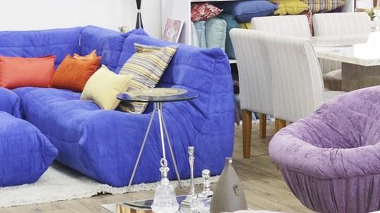 Lojas de móveis e decoração em um único lugar garantem conveniência
