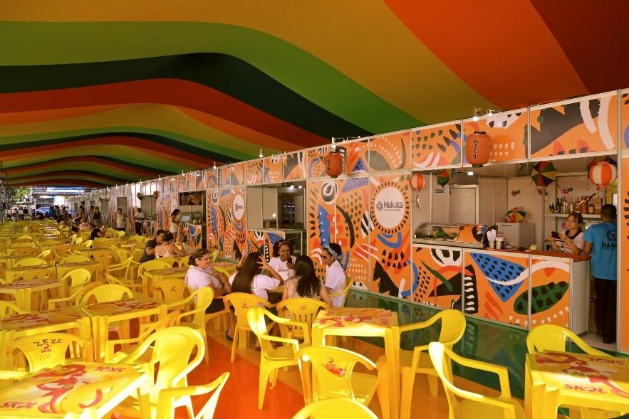 Arena Gastronômica do Carnaval começa a funcionar nesta quarta-feira, no Bairro do Recife