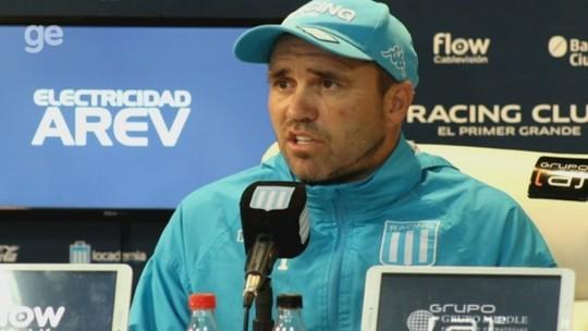 """Coudet oficializa saída do Racing ao fim do ano e confirma acordo com o Inter: """"Dei a prioridade"""""""