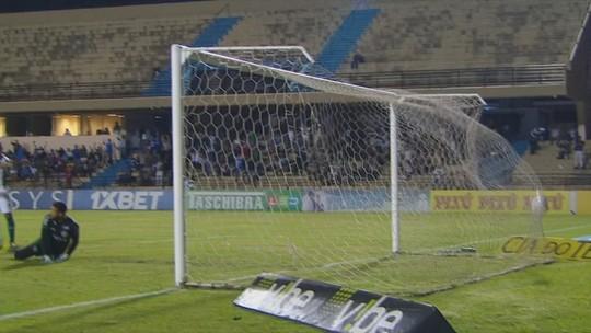 Os gols de São Bento 5 x 2 Coritiba, pela Série B do Brasileirão