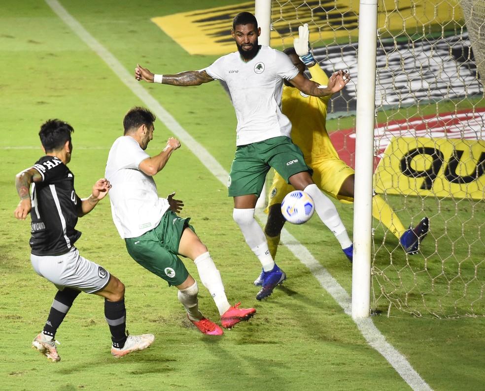 cano, gol, vasco, boavista, copa do brasil — Foto: André Durão