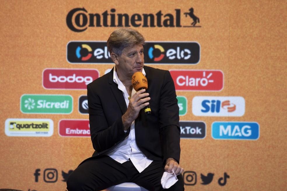 Renato Gaúcho, técnico do Grêmio — Foto: Lucas Figueiredo/CBF