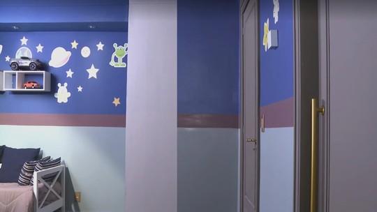 Inspire-se nas cores do quarto de Tomaz para decorar o cantinho do seu filho