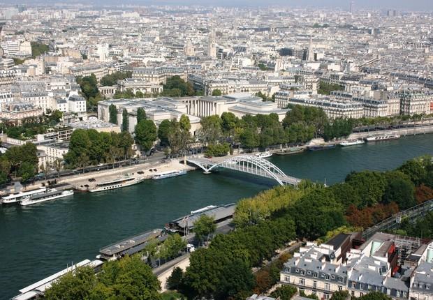 rio Sena, em Paris (Foto: Pixabay)