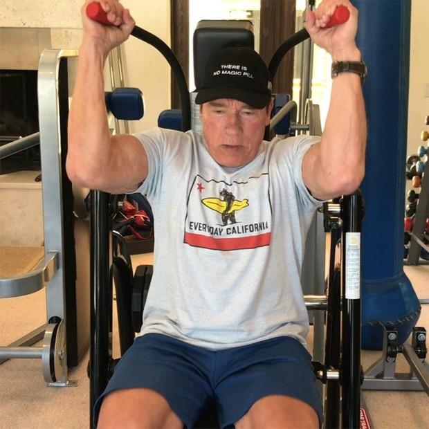 Arnold Schwarzenegger (Foto: Reprodução/Instagram)