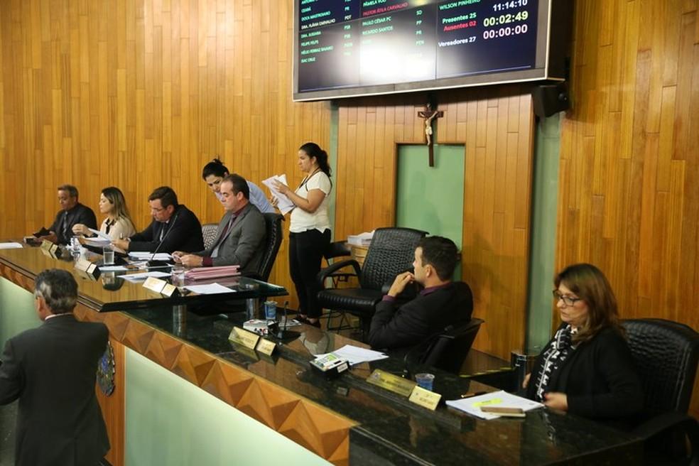 -  LDO votada em primeiro turno durante sessão ordinária desta quarta-feira  11  em Uberlândia  Foto: Aline Rezende/Câmara de Uberlândia