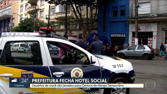 Prefeitura de SP fecha hotel social do programa De Braços Abertos