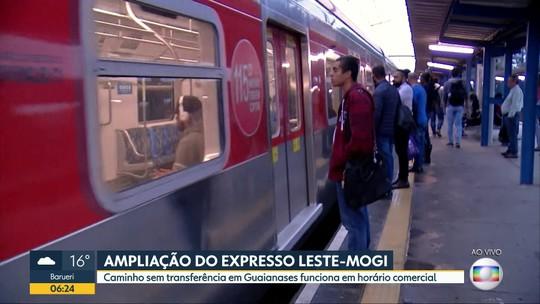 CPTM amplia viagens sem baldeação entre estações Estudantes e Luz