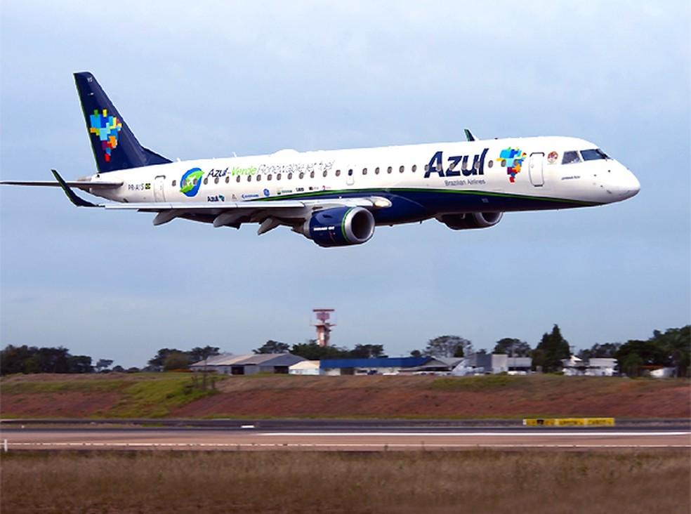 Companhia aérea Azul abre 150 vagas de emprego em seis aeroportos — Foto: Gianfranco Panda Beting / Divulgação Azul