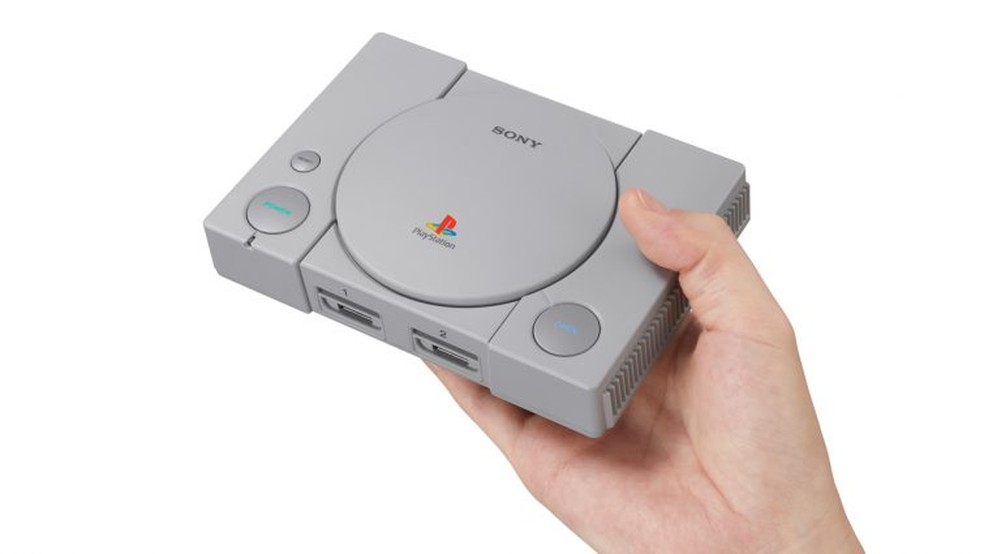 f07082f0aad Sony anuncia PlayStation Classic em versão mini e com 20 jogos na ...