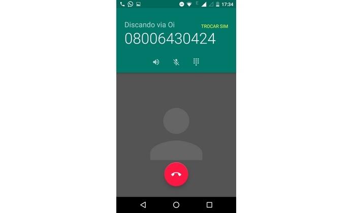 Número do celular