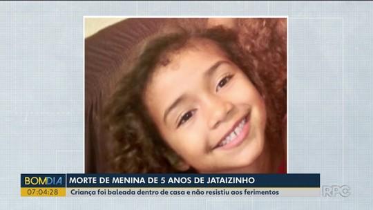 Polícia investiga morte de menina de 5 anos em Jataizinho