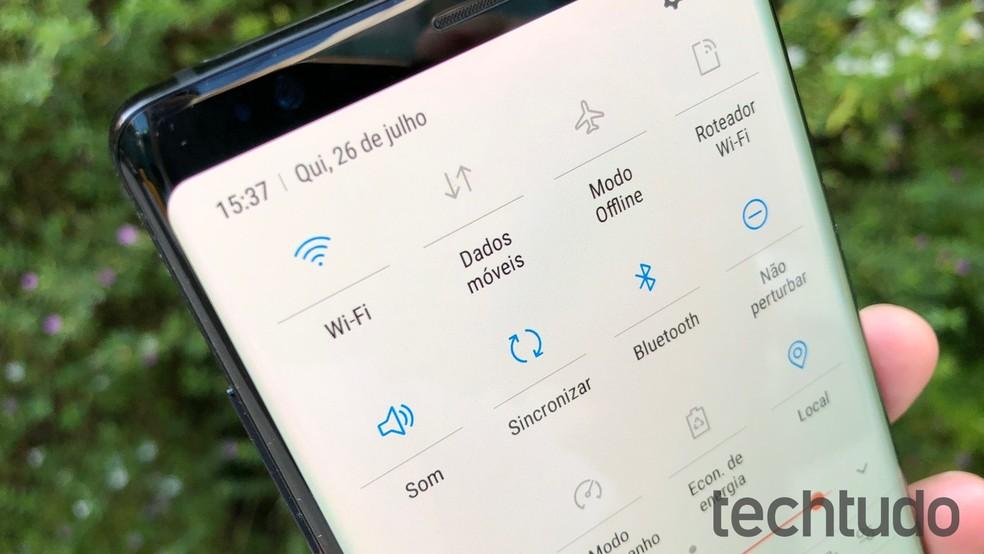 Wi-Fi 6 deve contribuir para celulares e notebooks que consumam menos energia enquanto conectados via Wi-Fi — Foto: Thássius Veloso/TechTudo
