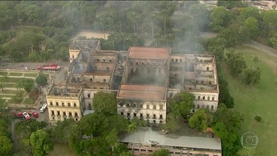 Incêndio no Museu Nacional destrói objetos de pesquisa de estudantes e professores da UFPE