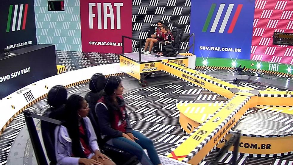 Brothers completam 8 horas na Prova do Líder Fiat no BBB21 — Foto: Globo