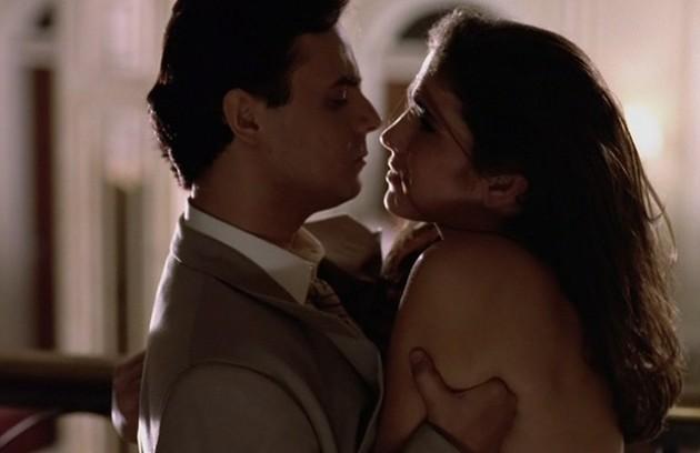 Com Cassio Gabus Mendes em 'A vida como ela é', de Nelson Rodrigues, no 'Fantástico' (1994) (Foto: Divulgação)