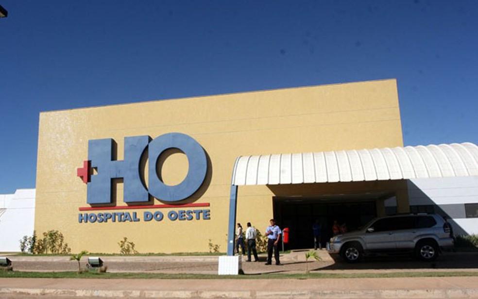 Menina chegou a ser transferida para o Hospital do Oeste, mas não resistiu (Foto: Manu Dias/GOVBA)