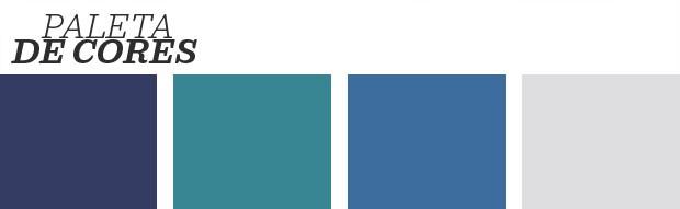 Décor do dia: Quarto com tons de azul e cores neutras (Foto: Reprodução)