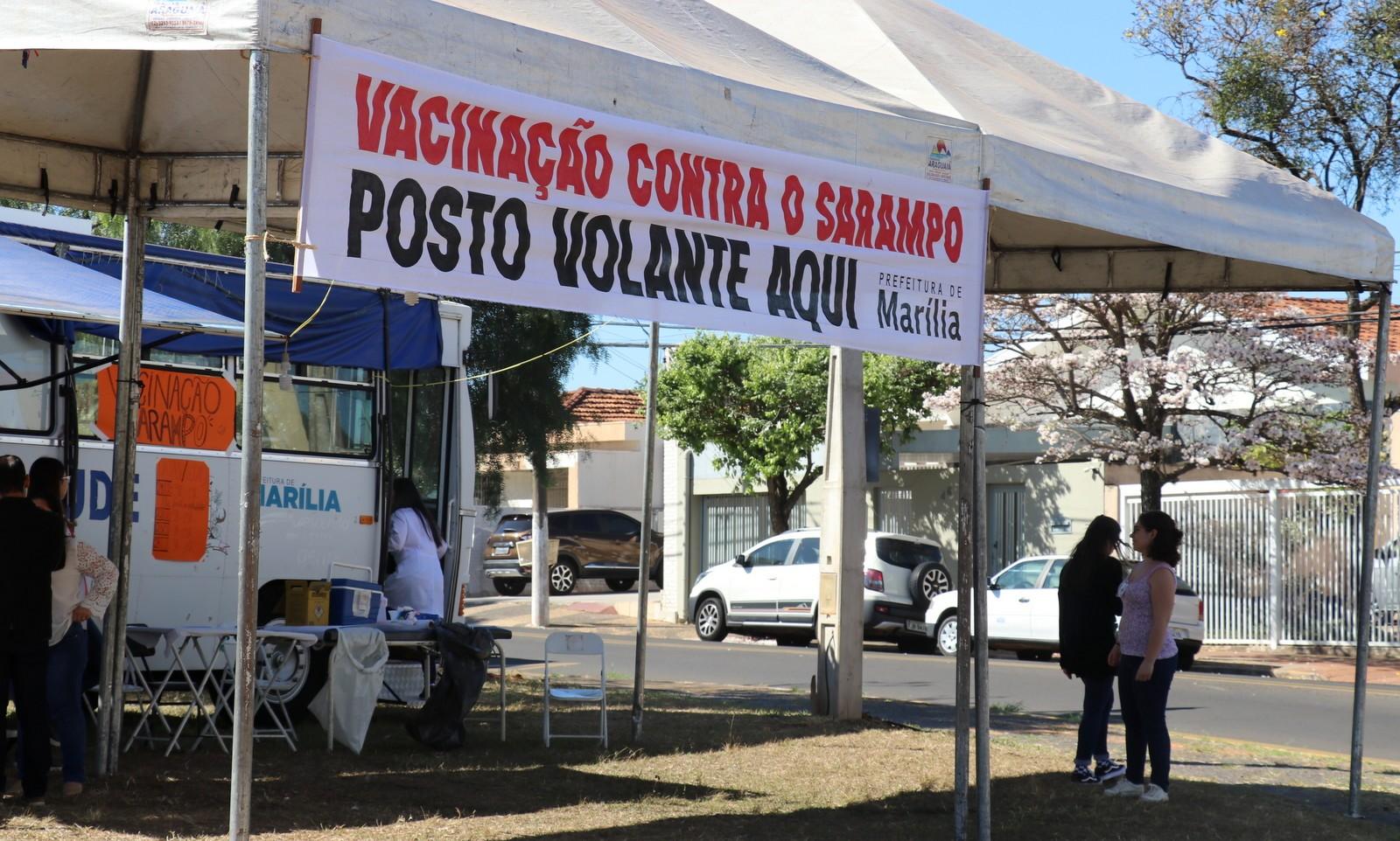 Marília confirma mais dois casos de sarampo e amplia ações de bloqueio - Notícias - Plantão Diário