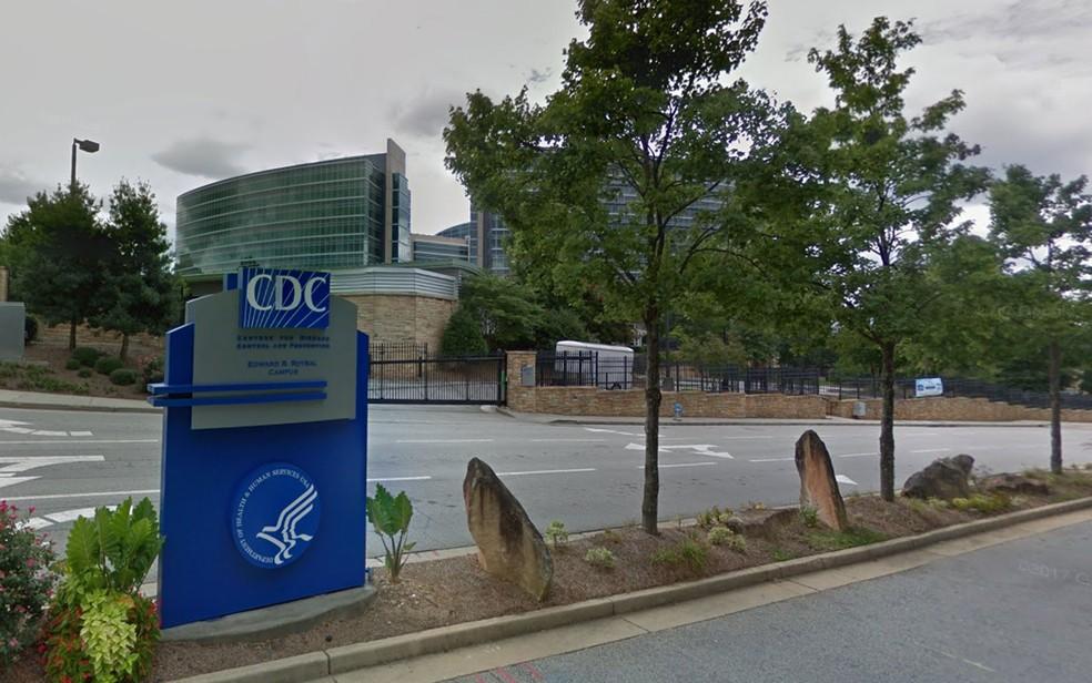 Sede do CDC em Atlanta, nos EUA (Foto: Reprodução/ Google Street View)