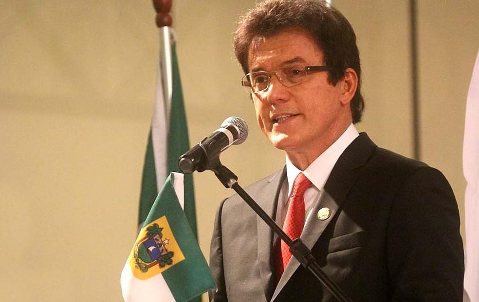 Robinson Faria, ex-governador do RN — Foto: Canindé Soares