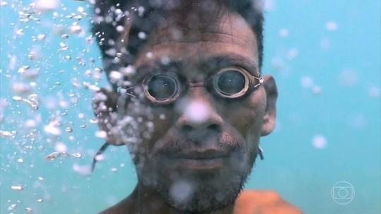 Conheça o 'Homem-Peixe'!