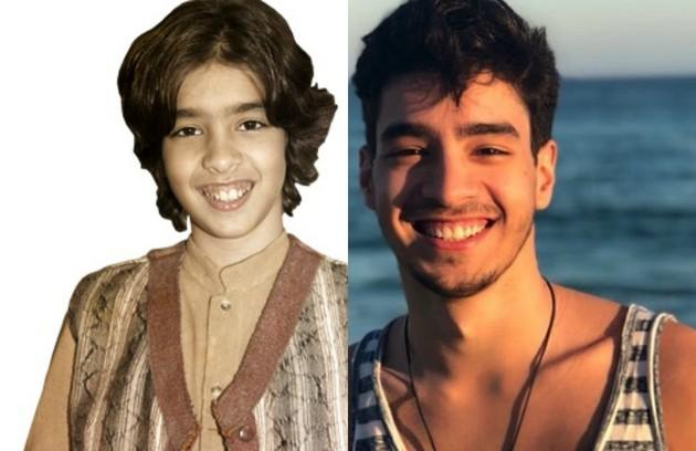 Matheus Costa deu vida a Salim, filho de Bartira (Andreia Horta) e Farid (Mohamed Harfouch). A última novela dele foi 'O Rico e Lázaro', em 2017 (Foto: TV Globo / Reprodução )