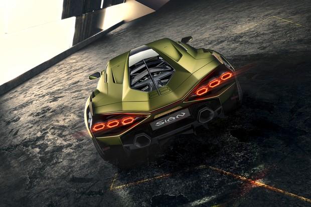 Sián é o inédito híbrido da Lamborghini: são 819 cv combinados  (Foto: Divulgação)