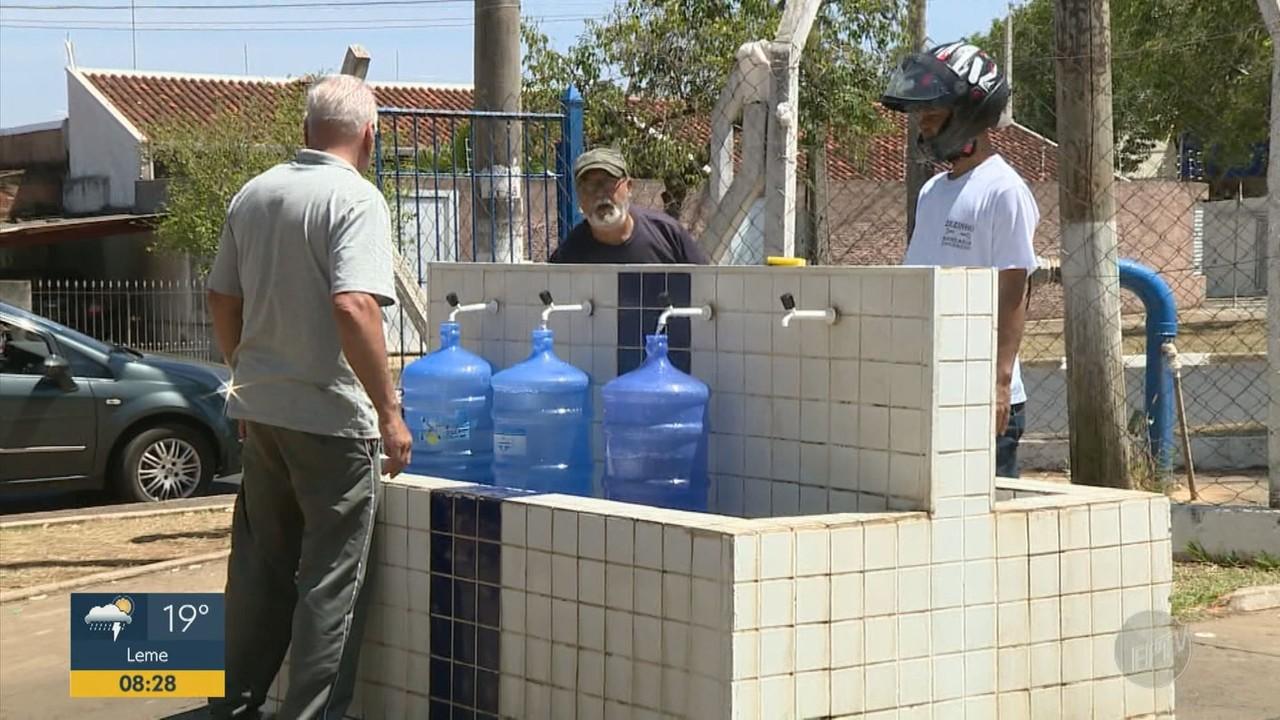 Prefeitura de Artur Nogueira anuncia rodizio de água a partir deste sábado (31)