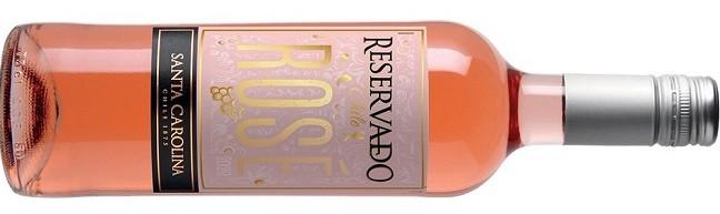O vinho Santa Carolina Reservado Rosé