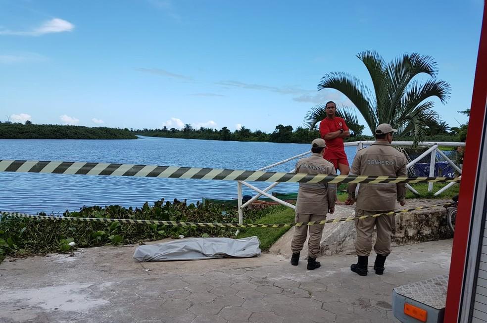 Adolescente morre afogado em rio de São Mateus, no ES  — Foto: VC no ES1