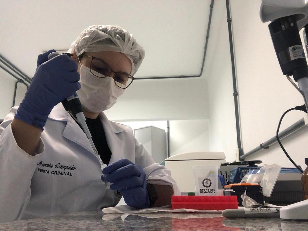 Perita Marcela Sampaio, autora da tese de doutorado com a goma do cajueiro — Foto: Arquivo pessoal