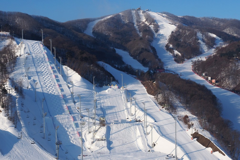 PyeongChang Venues, Olimpíada de Inverno, Bokwang Snow Park (Foto: Getty Images)
