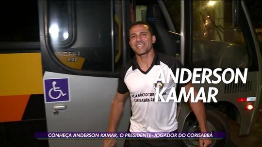 Anderson Kamar se divide como presidente e jogador do Corisabbá