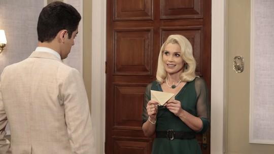 Sandra recebe carta com a localização de Candinho