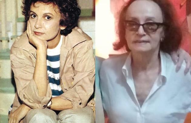 """Joana Fomm interpretou a historiadora Carmen Maura, também viúva e mãe de seis filhos. Em 2019, ela esteve no elenco de """"Sob pressão"""" (Foto: Reprodução)"""
