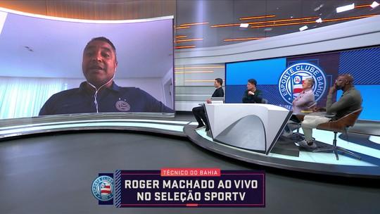 Roger Machado, técnico do Bahia, fala sobre Libertadores, momento do time e Fernando Diniz