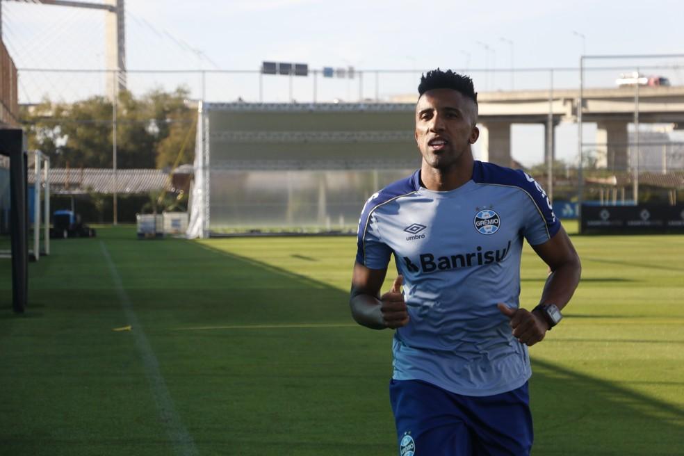 Bruno Cortez ainda não está pronto para retornar — Foto: Lucas Bubols / GloboEsporte.com