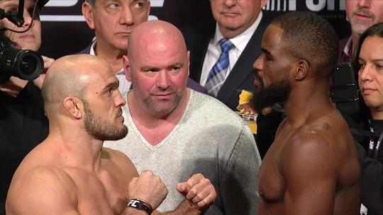Latifi e Anderson fazem a encarada pelo peso-meio-pesado no UFC 232