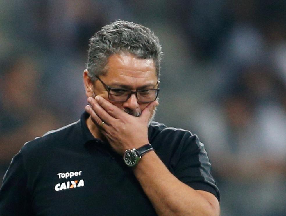 Rogério Micale não é mais o treinador do Atlético-MG (Foto: REUTERS/Cristiane Mattos)