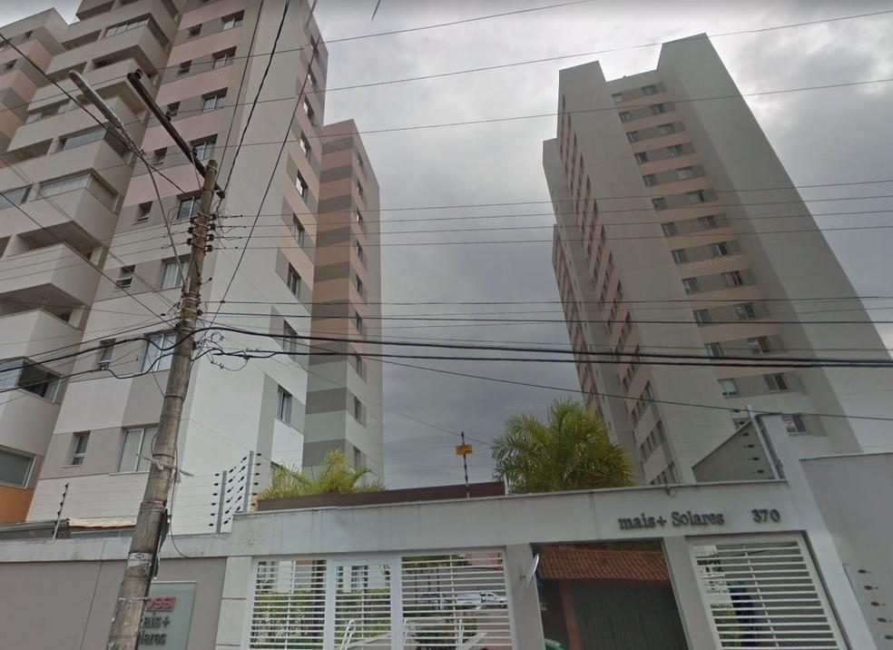 Fachada do Condomínio Mais Solares, no Heliópolis, onde uma menina caiu do 9º andar — Foto: Reprodução/Google Maps